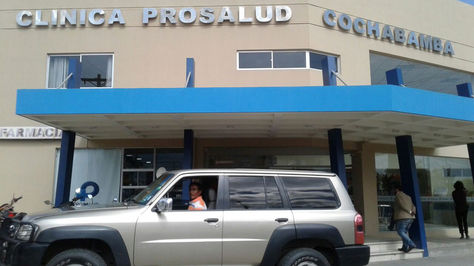 Centro Médico donde fue atendida la concejala