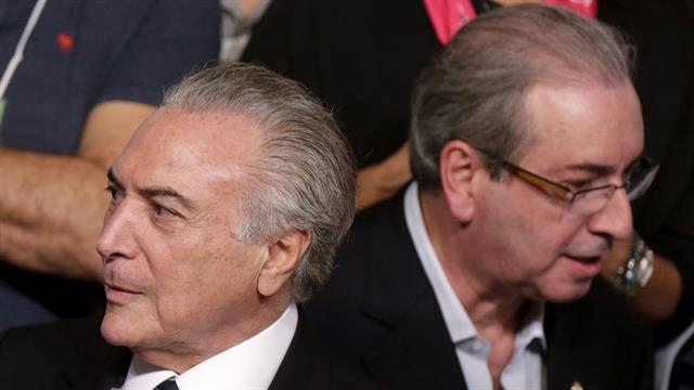 Michel Temer y Eduardo Cunha