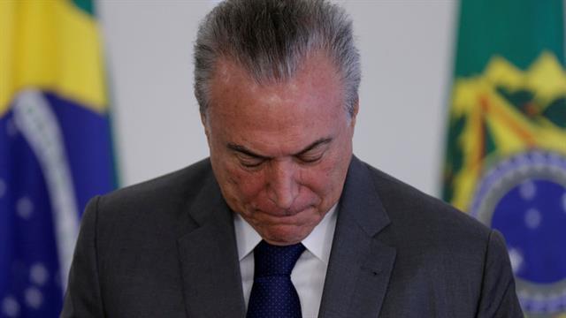 El presidente Michel Temer