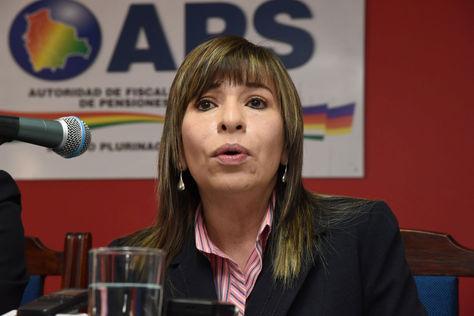 La directora de la APS, Patricia Mirabal. Foto: archivo La Razón