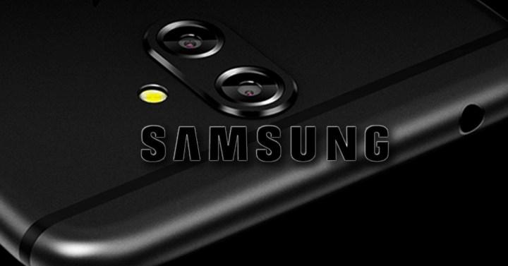 Smartphone Samsung con doble cámara