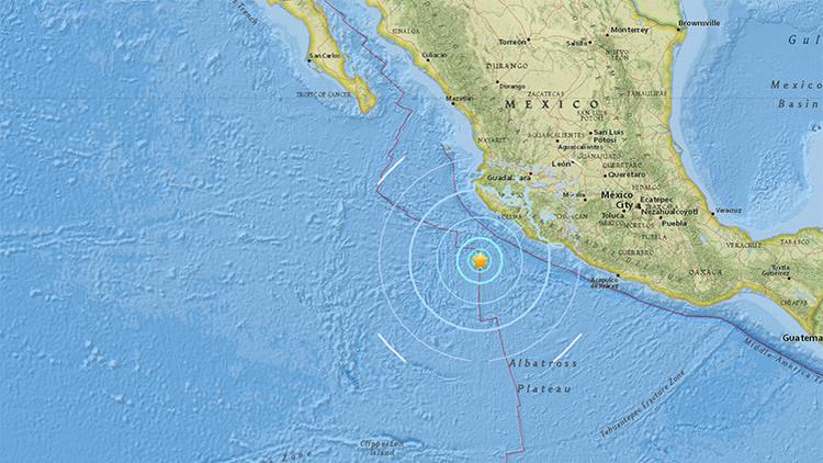 Un terremoto de magnitud 5,8 sacude la costa de México