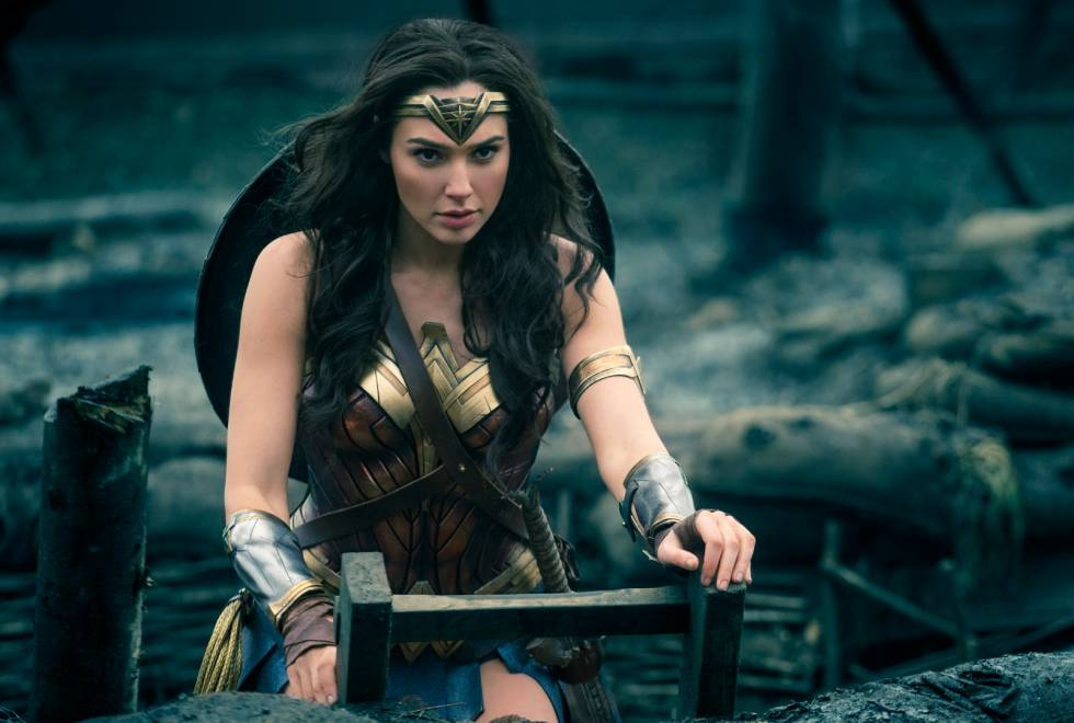 La actriz Gal Gadot como Wonder Woman.