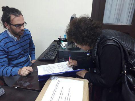 Lourdes Barragán se inscribe como postulante al TSJ.