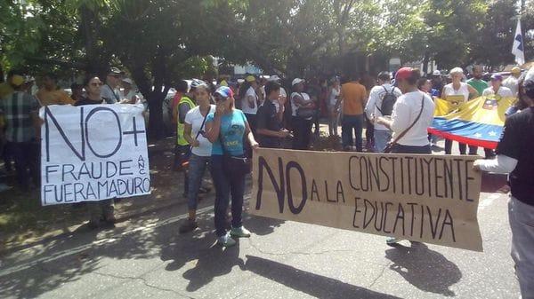 Hay concentraciones en Caracas y el resto del país (@Luijo02)