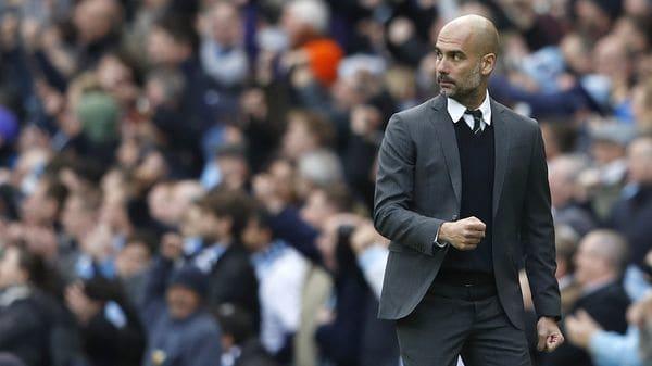 Pep Guardiola inició la renovación de la plantilla del Manchester City (Reuters)