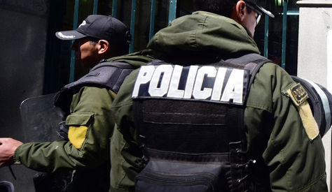 Operativo de la Fuerza Especial de Lucha Contra el Crimen (FELCC)