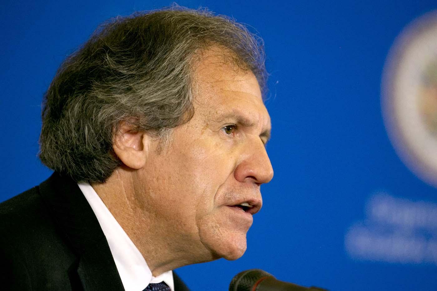 El secretario general de la Organización de los Estados Americanos, Luis Almagro (AP Foto/Jacquelyn Martin, archivo)