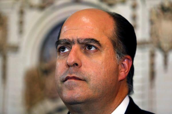 El presidente de la Asamblea Nacional, Julio Borges (REUTERS)