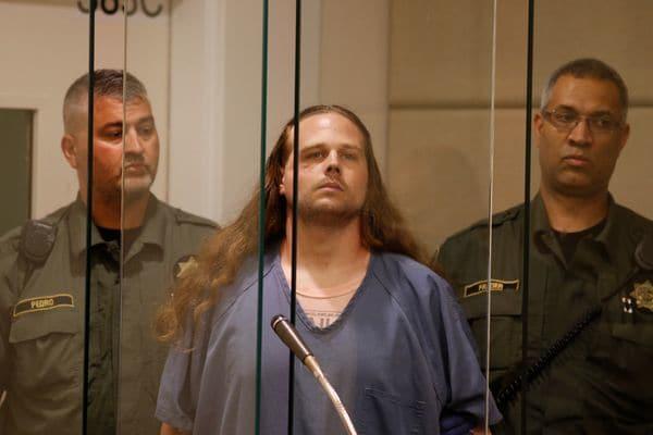 Jeremy Christian, 35 años, ante el juez en la audiencia del martes. (REUTERS)
