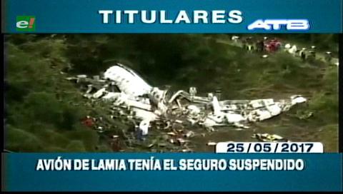 Video titulares de noticias de TV – Bolivia, mediodía del jueves 25 de mayo de 2017