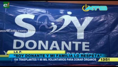 Más de 90 mil personas se inscribieron para ser donantes de órganos