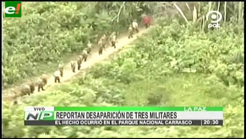 Reportan la desaparición de tres erradicadores de cocales en el Chapare