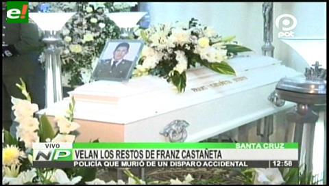 Velan los restos de policía que murió de un disparo accidental