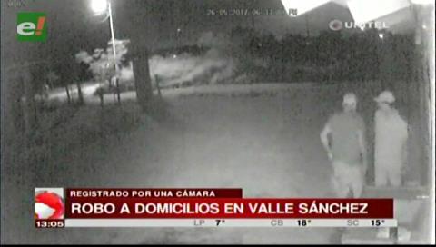 Valle Sánchez: Alarma en los vecinos por constantes robos