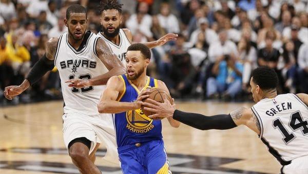 Los Warriors vienen de eliminar a los Spurs