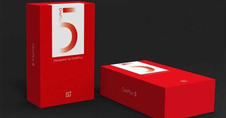 OnePlus 5T en su caja