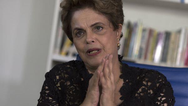 La acusación del martes cae sobre la formula Rousseff- Temer, que podría ser declarada inelegible por haber recibido dinero de la corrupción para la campaña (Adrián Escandar)