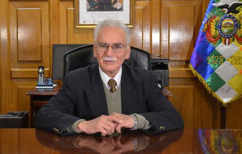 El presidente del Banco Central de Bolivia (BCB), Pablo Ramos.