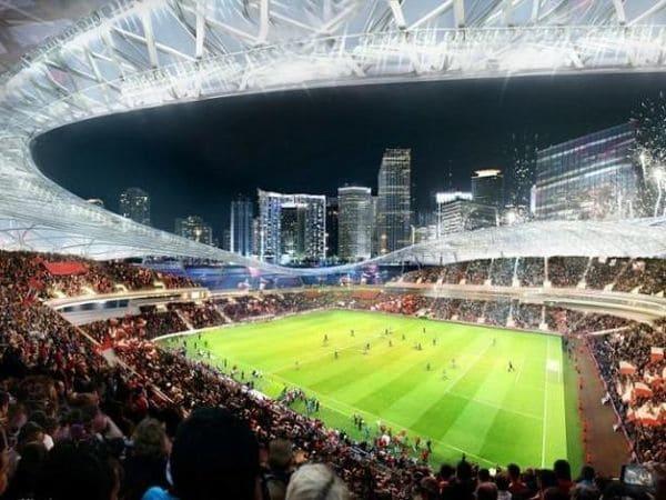 La construcción de un estadio como este implicará un desembolso de USD 300 millones, por lo que se requiere la ayuda de fondos privados