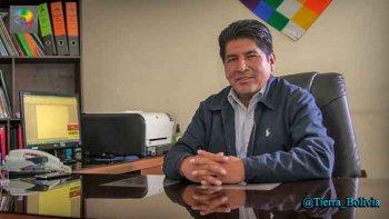 Resultado de imagen de presidente de la Asamblea Legislativa Departamental (ALD) de La Paz, Edgar Apaza,
