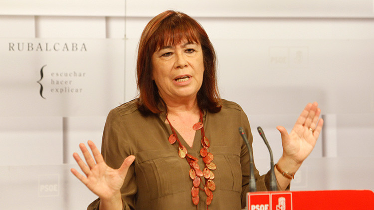 España: La exministra Cristina Narbona acepta la presidencia del PSOE