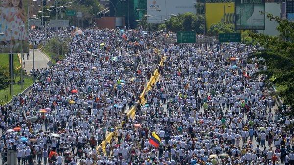 Los venezolanos vuelven a protestar contra Nicolás Maduro (AFP)