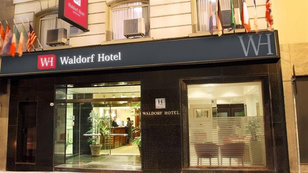 El hotel Waldorf, que según Margarita Stolbizer, pertenece a la ex presidenta Cristina Kirchner
