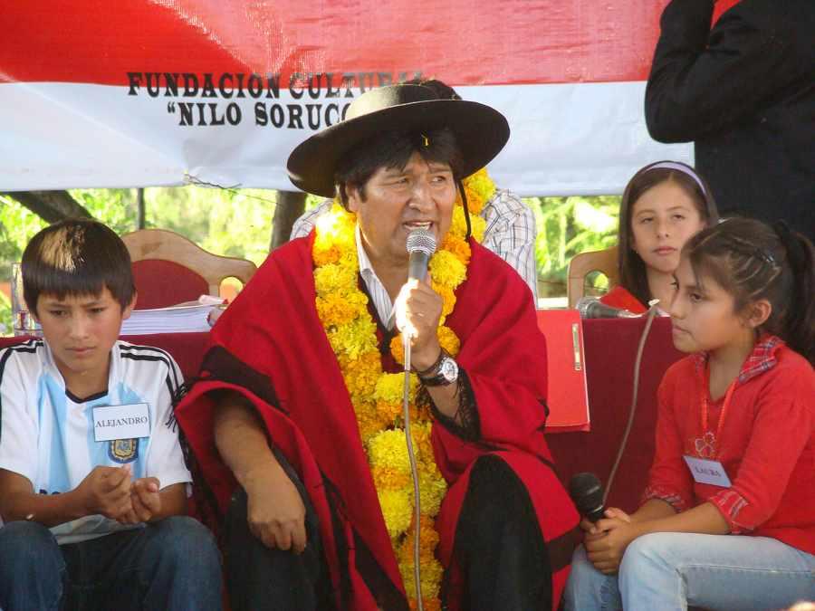 Evo y MAS evaluarán agenda política y proyectos en Tarija