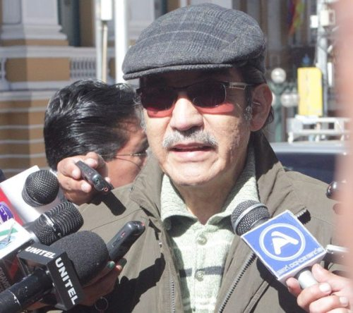 JORGE LAZARTE, EXVOCAL DE LA CORTE NACIONAL ELECTORAL.