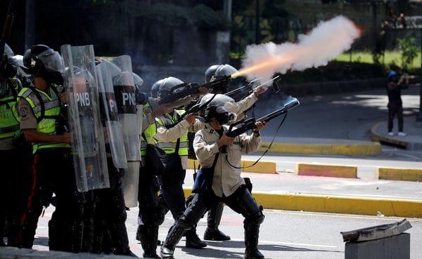 El documento exigía el cese de la violencia en Venezuela(Reuters)