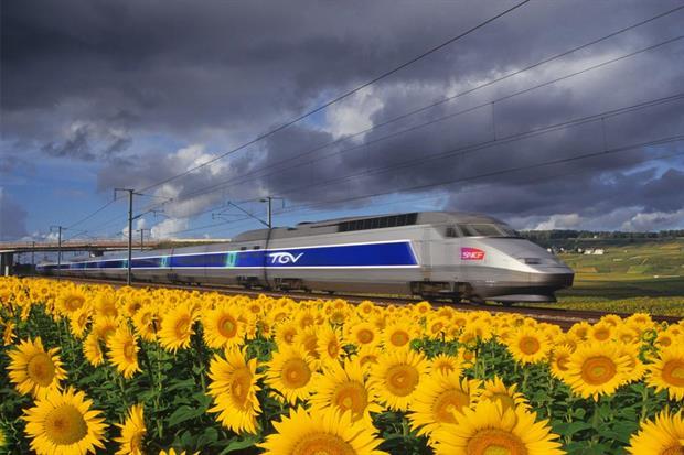 Un TGV francés