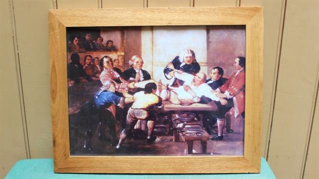 Los ayudantes o dressers, sujetaban a los pacientes y asistían al cirujano durante la operación.