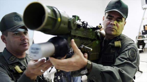 La oposición venezolana pide a la comunidad internacional embargar las exportaciones de armas para el régimen chavista