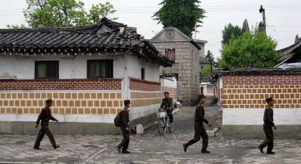 Los inminban de un vecindario norcoreano