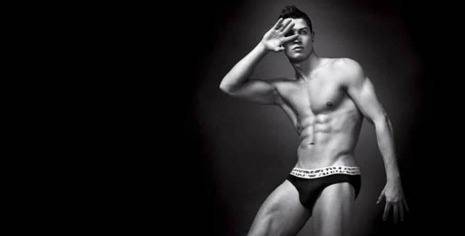 Cristiano Ronaldo, imagen de Emporio Armani.