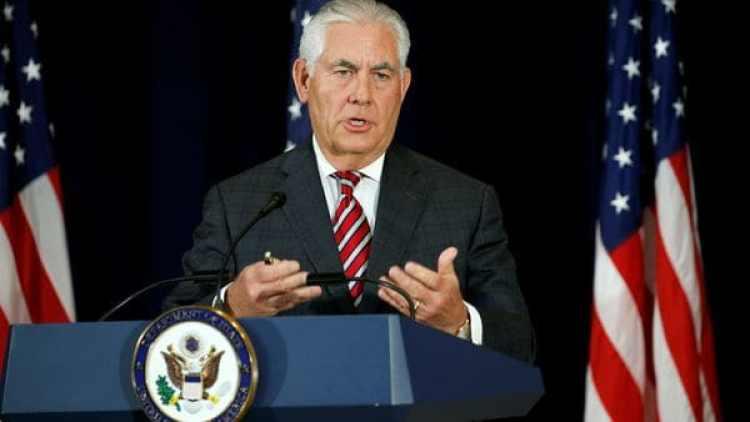 Rex Tillerson, secretario de Estado de los Estados Unidos. (Reuters)
