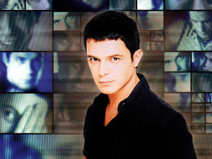 Alejandro Sanz, en la portada del disco