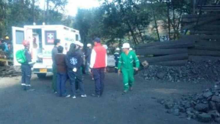 Imágenes posteriores al momento de la explosión. (Gobernación de Cundinamarca)