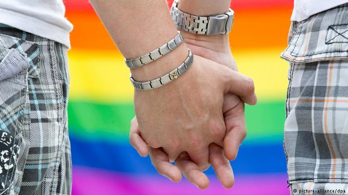 Symbolbild Homosexualität Schwules Paar