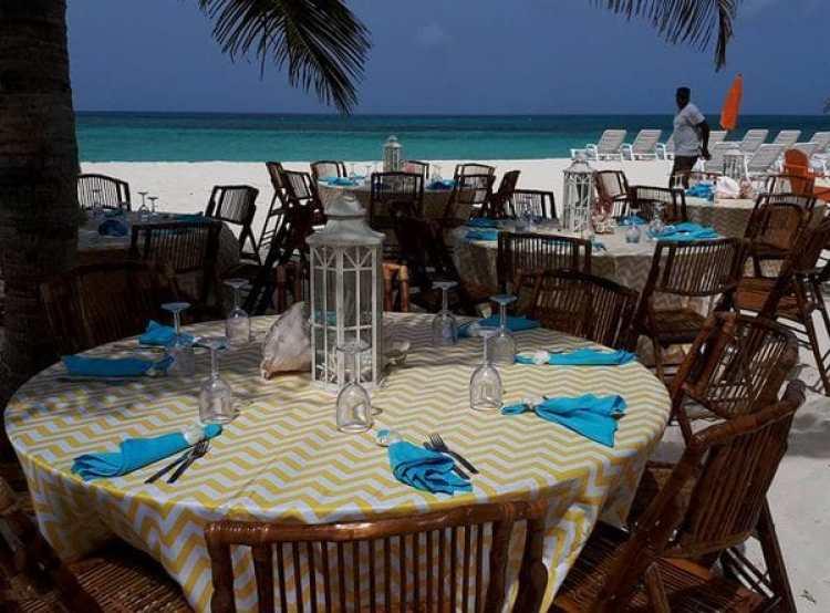 Un casamiento celebrado en la isla de Anguila en el corazón del Caribe