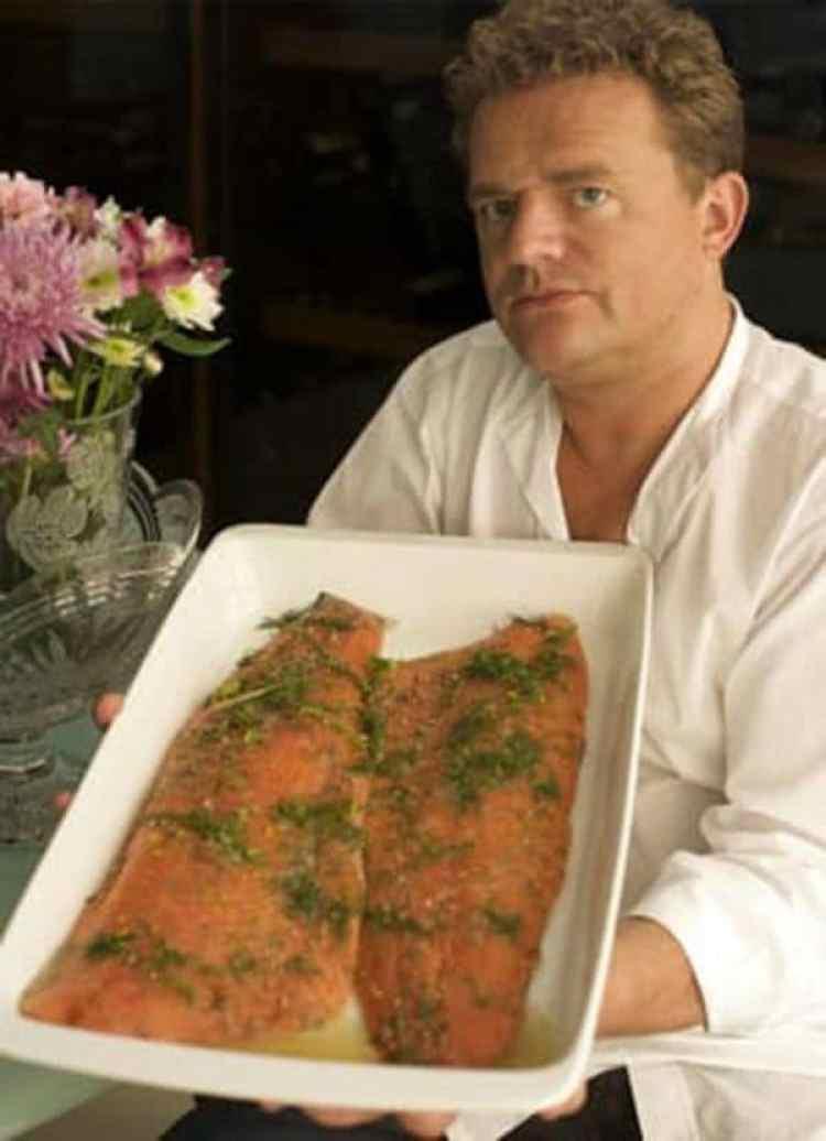 Jonathan Brown, el magnate del salmón socio de Scot Young