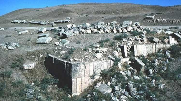 Las ruinas de la ciudad asiria de Khorsabad