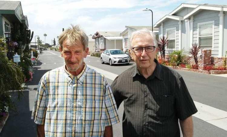 Frank M. Kerrigan, con su padre