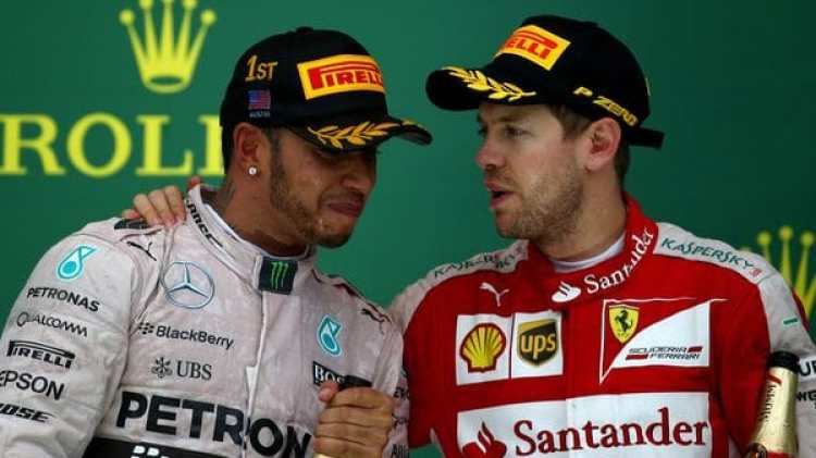 Lewis Hamilton y (Getty)