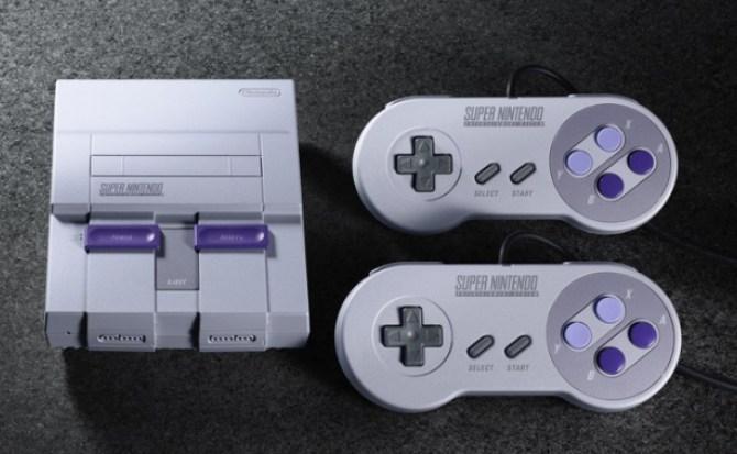 """Nintendo promete """"muchos más"""" Super Nintendo Classic que NES Classic"""