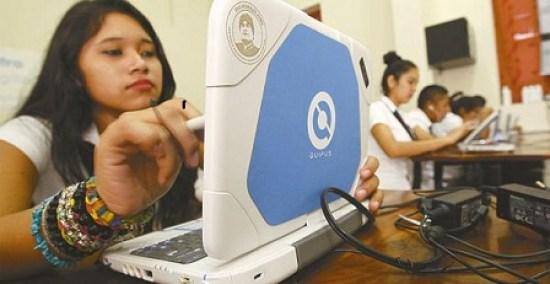 Resultado de imagen de Alcaldía de Oruro entrega más de 700 computadoras a unidades educativas
