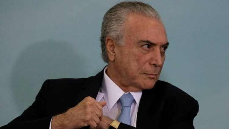 La Policía de Brasil pidió más tiempo a la Corte para investigar a Michel Temer