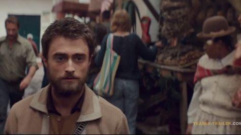 Una escena de la película Jungle con Daniel Radcliffe.