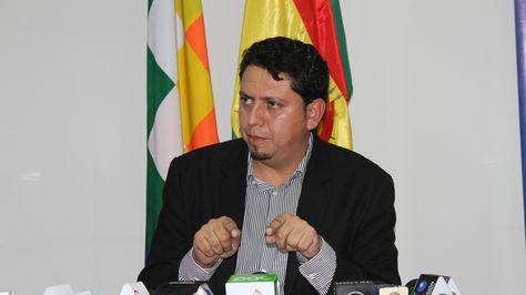 El presidente de YPFB, Óscar Barriga. Foto:YPFB